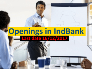 Openings in INDBank
